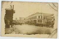 RPPC WP Fuller & Co Store, Street SAN DIEGO CA? Vintage Real Photo Postcard