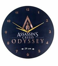 WALL CLOCK from ASSASSIN'S CREED ODYSSEY NEW in BOX OFFICIAL UBISOFT WATCH