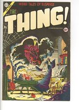 Thing! 17 (Solid) Charlton Comics 1954 DITKO COVER Golden Age Horror (c#27290)