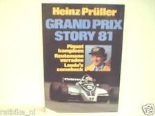 GRAND PRIX STORY 81 Heinz Prüller, F1, FORMULA ONE NELSON PIQUET
