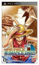 Used PSP One Piece Romance Dawn - Bouken no Yoake  SONY PLAYSTATION JAPAN IMPORT