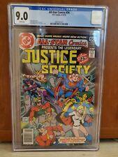 All Star Comics 74 DC Comics 1978 9.0 CGC Graded Final Issue