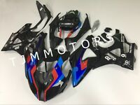 For BMW S1000RR 2009-2014 ABS Injection Mold Bodywork Fairing Kit HP4 Tri Color