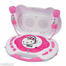 Hello Kitty CD Karaoke System/CD Player with AC Adapter - Holiday Gift