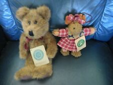 Two Cute Boyd Bear Items One a Bear the Other a Moose Ornament