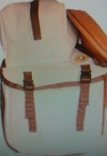 canvas saddle bag with top pack/outfitter/horse tack/packing equip/horse saddles