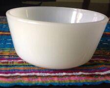 Anchor Hocking Milk Glass Custard/Condiment/Ice Cream Bowl