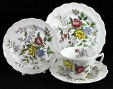 Booths FLOWERPIECE Luncheon Set Vintage A8064 GREAT CONDITION