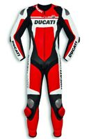 DUCATI Dainese Corse C4 Lederkombi Kombi Leather Suit Einteiler rot NEU