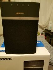 Bose SoundTouch 10 wireless speaker, works with Alexa, Black...... EXCELLENT....