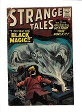 Strange Tales 71 Merlin's Black Magic Alien Emperor Flying Saucers Faceless Man