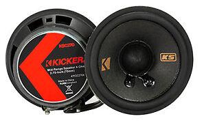 Kicker KSC2704-47 Lautsprecher - 7cm 2 Wege Coax