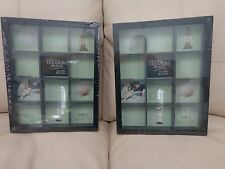 Collectors Frame Shadow Box 11x14 12 Grid Boxes, Miniature, Display 2 for $50.50
