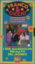 FRANCO E CICCIO - I DUE MAGGIOLINI PIU' MATTI DEL MONDO (1970) VHS