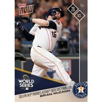 BRIAN MCCANN TOPPS NOW SOLO HR IN 8TH PROVIDES ASTROS WITH LATE 3-RUN LEAD 847