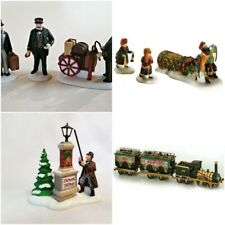4 Pc Department 56 Accessory Lot~Flying Scot Bringing Home Yule Lamplighter