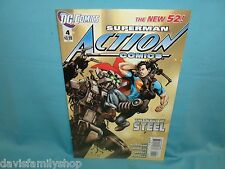 Superman in Action Comics #4 DC New 52 Comic Comics Fine/Very Fine Condition