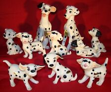 Enesco Large 101 Dalmatians 1961 Ceramics Set-Complete With Name Tags & Labels!