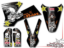 KTM SX 50 65 85 | 2001 - 2016 | KID MX FMX DECORO DECAL KIT Rockstar 'Associazione medica Herlings