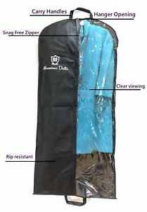 Garment Bags Dress Clothes Suit Carry Travel Handle Carriers Covers Protector