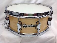 "Premier Drums Series Elite 14"" Maple Snare/Natural Maple Finish/NEW"