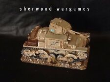 1/48 Italian Fiat L6/40 Light Tank, In Resin By Blitzkrieg WWII Bolt Action