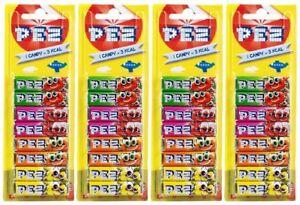 4x PEZ Refills 8 Pcs Pack Fruit Flavour Sweets For PEZ Dispenser (32 Refills)