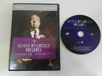 ALFRED HITCHCOCK TEMPORADA 1 EPISODIOS 21-24 DVD SLIM ESPAÑOL ENGLISH