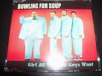 Bowling For Soup Girl All The Bad Guys Want Australian CD Single