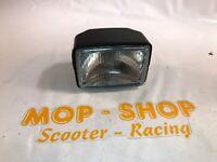Scheinwerfer Lampe eckig Mofa Hercules Prima 2 3 4 und 5 S Optima Moped Neu