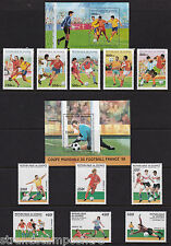 Guinea - World Cup Football - U/M - 1995 (1st Issue) + 1997 (2nd Issue) 'Bundle'