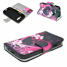 Leather Card Wallet Flip Phone Cover Case For Samsung Galaxy Ace NXT SM-G313H