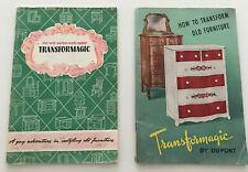 2 vintage Peter Hunt Transformagic furniture booklets, DuPont, Provincetown, lot