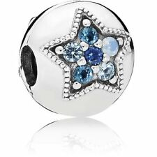 NEW Authentic Pandora Stopper Bright Star Clip Charm 796380NSBMX