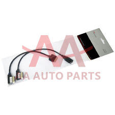 Genuine Audi Volkswagen Skoda AMI MMI MEDIA-IN MDI Interface Adapter Cable Kit