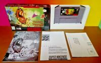 Disney Timon Pumbaa's Jungle SNES Super Nintendo AUTHENTIC Tested Game Complete