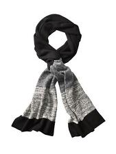 New Athleta Black/Grey Large Ombre Scarf Wrap $118