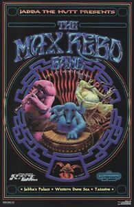 STAR WARS: RETURN OF THE JEDI - MOVIE POSTER / PRINT (THE MAX REBO BAND)