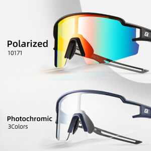ROCKBROS Outdoor Photochromic& Polarized Sunglasses Cycling Sports Protection
