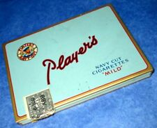 "Player's ""MILD"" Navy Cut Vintage Cigarette Tin Case"