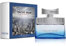 YACHT MAN™ FREEDOM Eau de Toilette for Men 100 ml Spray Made in Switzerland NEU