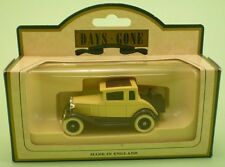 LLEDO Days Gone DG82001 1930 FORD MODEL A COUPE beige die cast metal model MINT