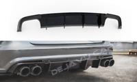Aggressiv Diffusor Heckansatz Heckschürze für Audi A6 C7.5 Facelift S line & S6