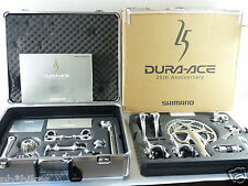 Dura Ace 25th Anniversary Group #0692 Shimano 9 spd 1998 Vintage Bike 170mm NOS