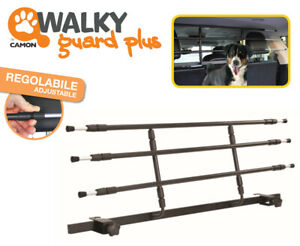 Walky Car Dog Guard Plus - Vehicle Rear Barrier for all cars & SUV - easy fit !