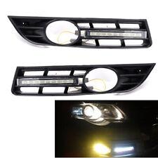2X LED DRL Daytime Running Light Grille fit for VW Passat B6 06-09 12V 4.5W Best