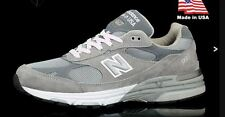 NEW NIB Men's New Balance 993 Made In USA Running Shoes All Sizes Gray  MR993GL