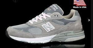 Neuf Nib Homme New Balance 993 Fabriqué En USA Course Chaussures Toutes Tailles