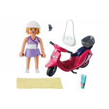 PLAYMOBIL ® 9084 MUJER CON SCOOTER