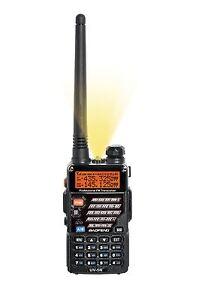 SOFTAIR TOY 2 WAY DUAL BAND RADIO SET KIT BAOFENG UV-5R HEADSET 100% UK